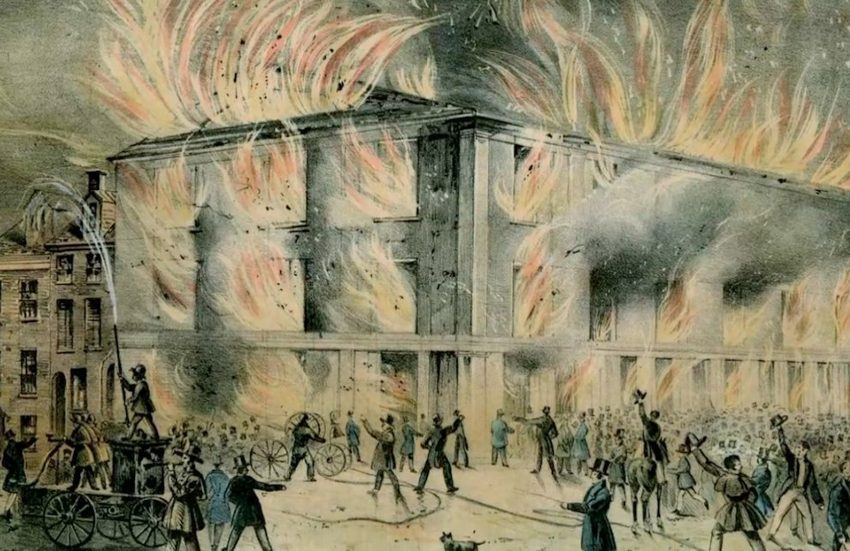 Pennsylvania Hall Burns